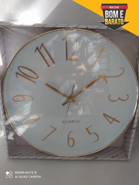 Relógio parede redondo