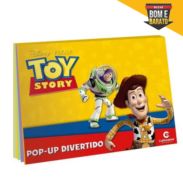 POP UP DIVERTIDO TOY STORY