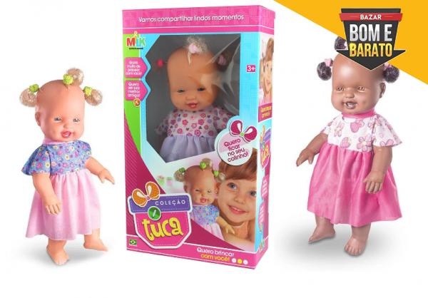 Boneca Infantil Coleção Tuca