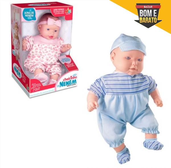 bonecos coleção cheirinho de neném