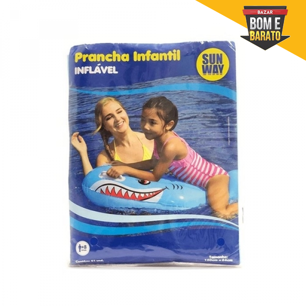 PRANCHA INFANTIL TUBARÃO
