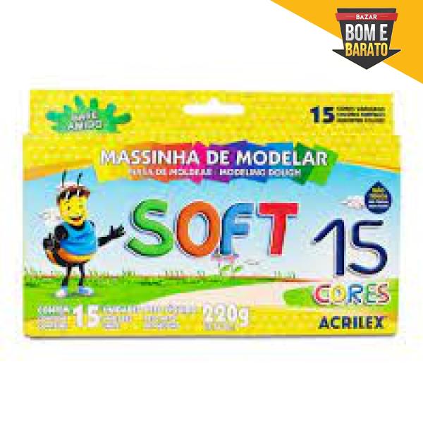 MASSINHA SOFT C/12 CORES