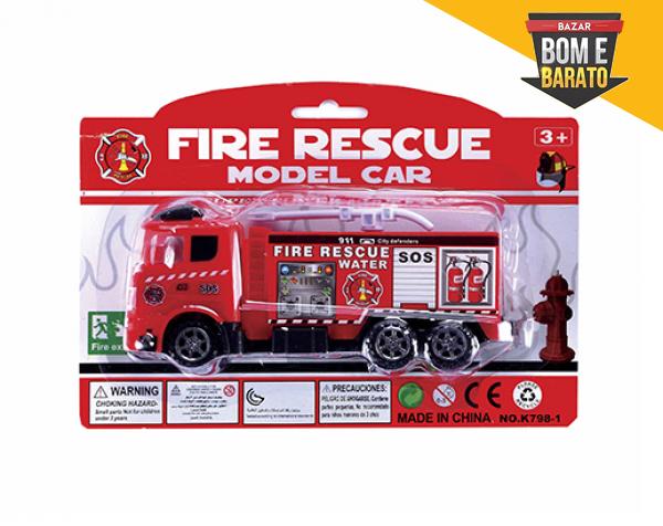 FIRE RESCUE CAMINHÃO DE BOMBEIROS