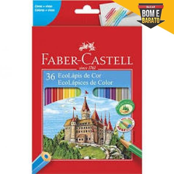 36 ECOLÀPIS DE COR FABER-CASTELL