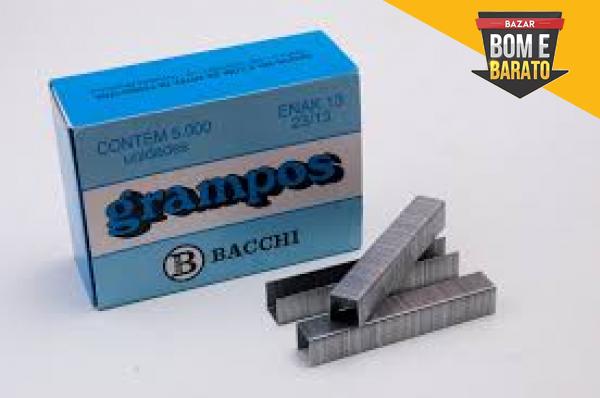 GRAMPOS GALVANIZADOS BACCHI  23/13 COM 5000UN