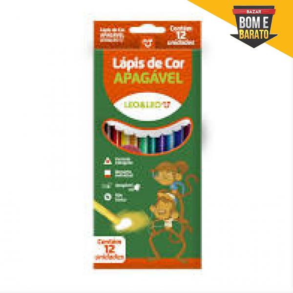 LAPIS DE COR APAGAVEL LEO&LEO