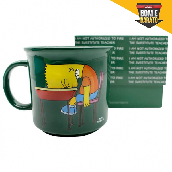 CANECA DE PORCELANA SIMPSONS