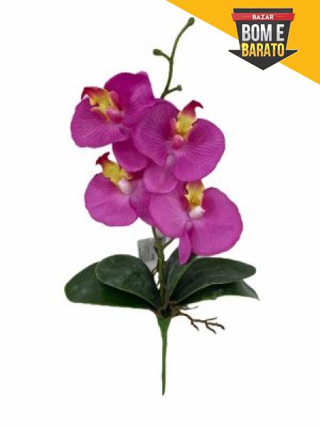 Orquídea de cetim lavanda x4