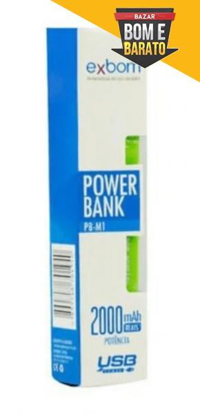 POWER BANK EXBOM PB-M1 2000
