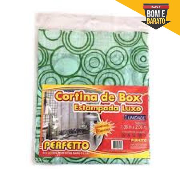 CORTINA DE BOX ESTAMPADO LUXO