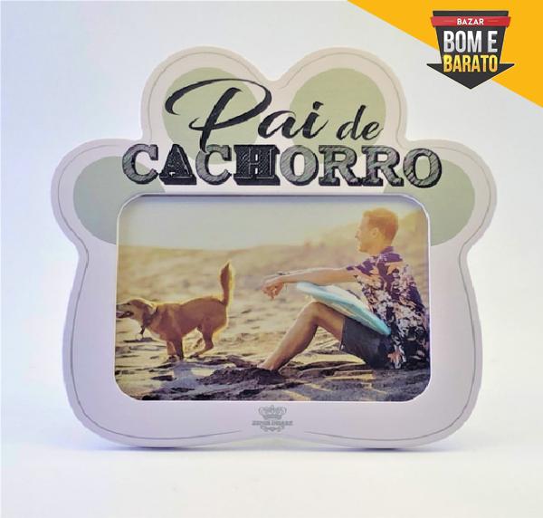 PORTA RETRATO PAI DE CACHORRO - PATA