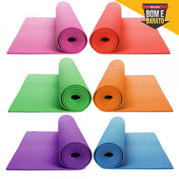 Tapete Yoga/pilates Red Star 173 X 61 Cm 4 Mm